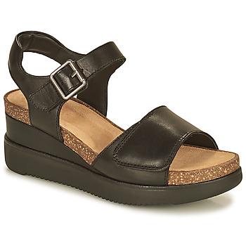 Schuhe Damen Sandalen / Sandaletten Clarks LIZBY STRAP Schwarz