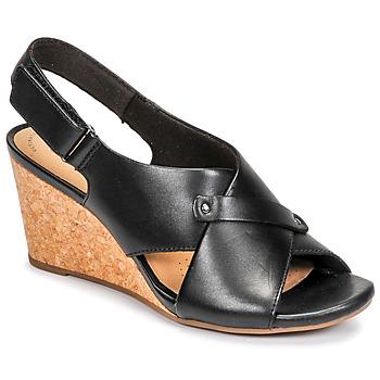 Schuhe Damen Sandalen / Sandaletten Clarks MARGEE EVE Schwarz
