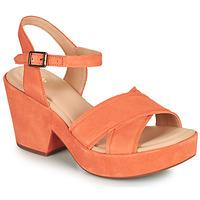 Schuhe Damen Sandalen / Sandaletten Clarks MARITSA70STRAP Korallenrot