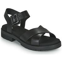 Schuhe Damen Sandalen / Sandaletten Clarks ORINOCO STRAP Schwarz