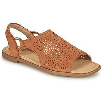 Schuhe Damen Sandalen / Sandaletten Clarks REYNA SWIRL Camel