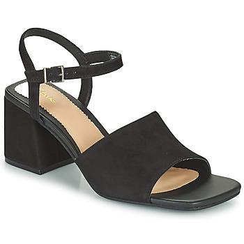 Schuhe Damen Sandalen / Sandaletten Clarks SHEER65 BLOCK Schwarz