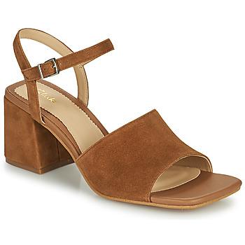 Schuhe Damen Sandalen / Sandaletten Clarks SHEER65 BLOCK Camel