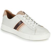 Schuhe Damen Sneaker Low Clarks UN MAUI BAND Weiss
