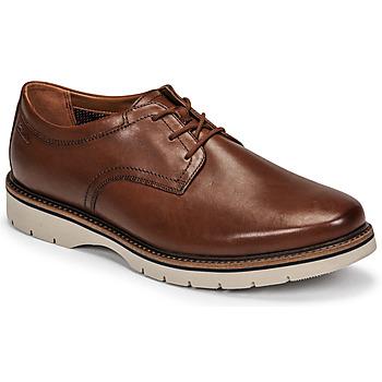 Schuhe Herren Derby-Schuhe Clarks BAYHILL PLAIN Braun