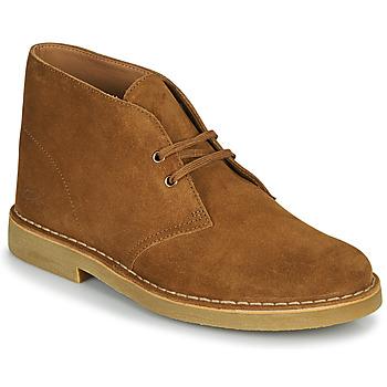 Schuhe Herren Boots Clarks DESERT BOOT 2 Braun