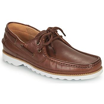 Schuhe Herren Bootsschuhe Clarks DURLEIGH SAIL Braun