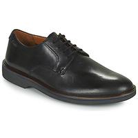 Schuhe Herren Derby-Schuhe Clarks MALWOOD PLAIN Schwarz
