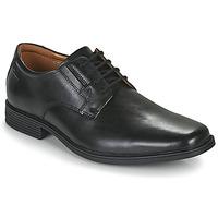 Schuhe Herren Derby-Schuhe Clarks TILDEN PLAIN Schwarz