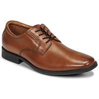 Schuhe Herren Derby-Schuhe Clarks TILDEN PLAIN Braun