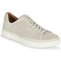 Schuhe Herren Sneaker Low Clarks UN COSTA TIE Weiss