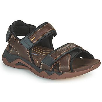 Schuhe Herren Sportliche Sandalen Clarks WAVE2.0 JAUNT Braun
