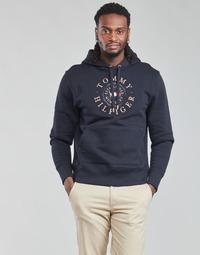 Kleidung Herren Sweatshirts Tommy Hilfiger ICON COIN HOODY Marine