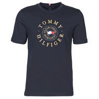 Kleidung Herren T-Shirts Tommy Hilfiger ICON COIN TEE Marine