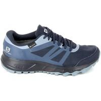 Schuhe Damen Laufschuhe Salomon Trailster 2 GTX Marine Blau