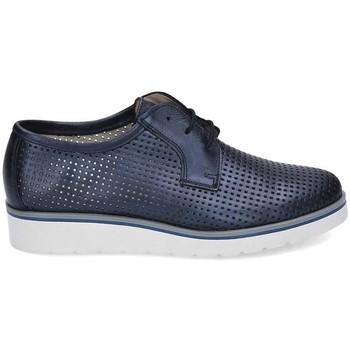 Schuhe Damen Derby-Schuhe & Richelieu Kennebec 6065 P.CUADRADITOS Blau