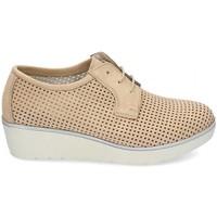 Schuhe Damen Derby-Schuhe & Richelieu Kennebec 7001 P. CUADRADITO Braun