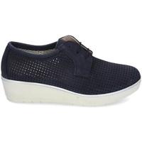 Schuhe Damen Derby-Schuhe & Richelieu Kennebec 7001 P. CUADRADITO Blau