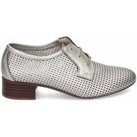 Schuhe Damen Derby-Schuhe & Richelieu Kennebec 3937 P.OVALOS Silbern