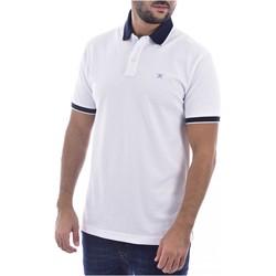 Kleidung Herren T-Shirts & Poloshirts Hackett HM562698 Weiss