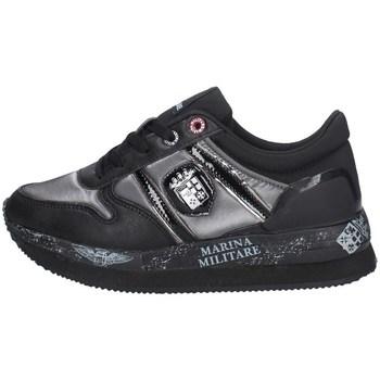 Schuhe Damen Sneaker Low Marina Militare MM358 SCHWARZ