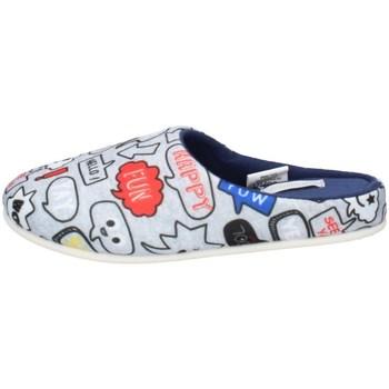 Schuhe Jungen Hausschuhe De Fonseca TORINO I K650 GRAU