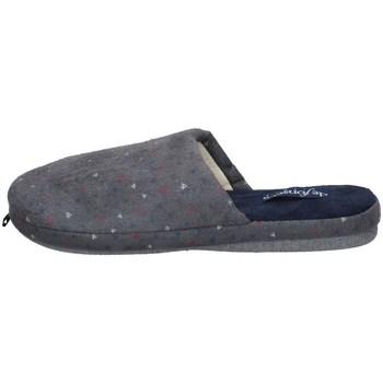 Schuhe Herren Hausschuhe De Fonseca ROMA TOP I M610 GRAU