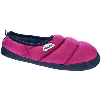 Schuhe Damen Hausschuhe Nuvola Classic Fuchsia Rosa