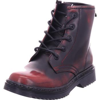 Schuhe Damen Stiefel Hengst - F71311 rot
