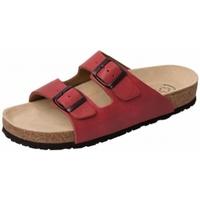 Schuhe Damen Pantoffel Weeger Bio Pantol. Art. 41110-60 rot