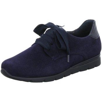Schuhe Damen Derby-Schuhe Semler Schnuerschuhe Nelly N8335-441-080 blau