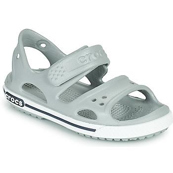 Schuhe Kinder Sandalen / Sandaletten Crocs CROCBAND II SANDAL PS Grau