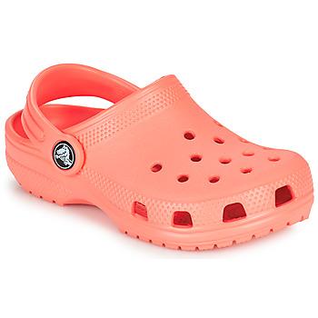 Schuhe Kinder Pantoletten / Clogs Crocs CLASSIC CLOG K Orange