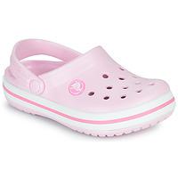 Schuhe Mädchen Pantoletten / Clogs Crocs CROCBAND CLOG K Rose