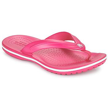 Schuhe Kinder Zehensandalen Crocs CROCBAND FLIP GS Rose