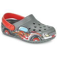 Schuhe Jungen Pantoletten / Clogs Crocs FLTRUCKBANDCLOG K Grau / Rot