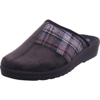 Schuhe Herren Hausschuhe Bold schwarz-grau 0