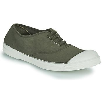 Schuhe Damen Sneaker Low Bensimon TENNIS LACET Kaki