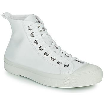 Schuhe Damen Sneaker Low Bensimon B79 MID Weiss