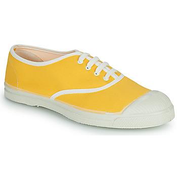 Schuhe Damen Sneaker Low Bensimon VINTAGE Gelb