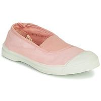 Schuhe Mädchen Sneaker Low Bensimon TENNIS ELASTIQUE Rose