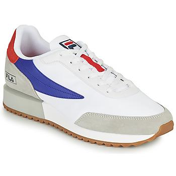 Schuhe Herren Sneaker Low Fila RETRONIQUE Weiss / Blau / Rot