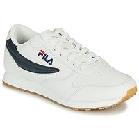 Schuhe Herren Sneaker Low Fila ORBIT LOW Weiss / Blau