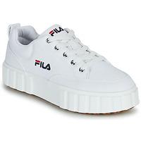 Schuhe Damen Sneaker Low Fila SANDBLAST C WMN Weiss