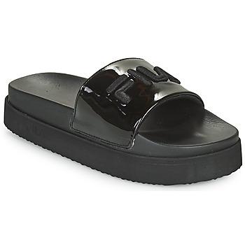 Schuhe Damen Pantoletten Fila MORRO BAY ZEPPA F WMN Schwarz