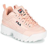 Schuhe Mädchen Sneaker Low Fila DISRUPTOR KIDS Rose