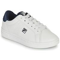 Schuhe Jungen Sneaker Low Fila CROSSCOURT 2 NT KIDS Weiss / Blau