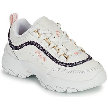 Schuhe Mädchen Sneaker Low Fila STRADA A LOW JR Weiss / Beige