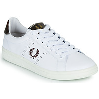 Schuhe Herren Sneaker Low Fred Perry B721 Weiss