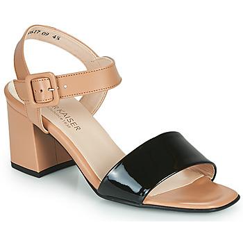 Schuhe Damen Sandalen / Sandaletten Peter Kaiser PEORIA Schwarz